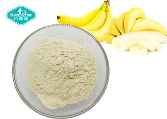 China Light Yellow Fruit And Vegetable Powder / Freeze Dried Banana Fruit Powder Making Soft Drink supplier