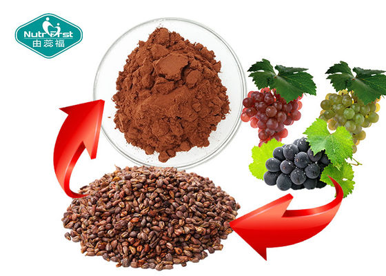 China Reddish Brown Grape Seed Extract Whitening Skin Support Healthy Cognitive Function supplier