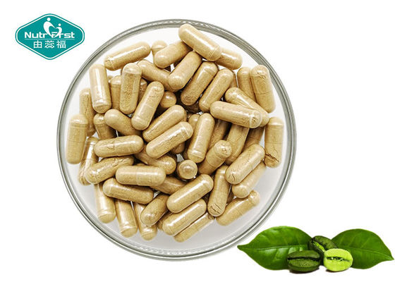 Green Safe Effective Weight Loss Pills Coffee Bean Extract 400mg Capsules with 50% Chlorogenic Acid