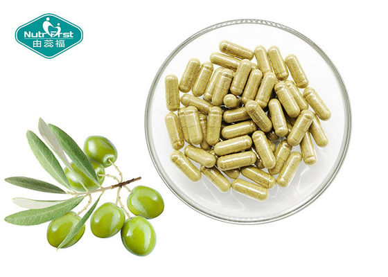 High Strength Olive Leaf Extract Capsules Anti - Oxidant Enhances Immune System