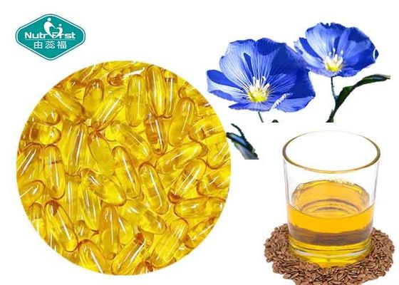 Essential Omega 3 Fish Oil Capsules Flaxseed Oil Capsules Supports Cardiovascular System