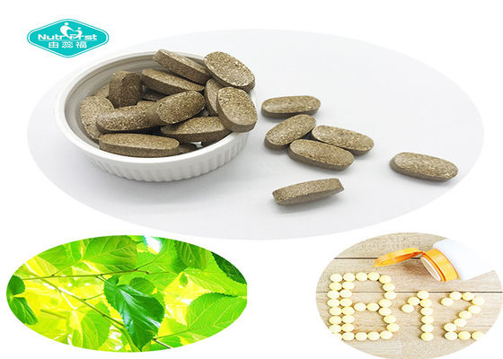 China Pure Mulberry Leaf Extract With Vitamin B12 Tablets For Blood Sugar Support supplier