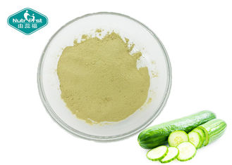 Fine Cucumber Extract Powder For Preventing Diabetes , Lowering Blood Lipid
