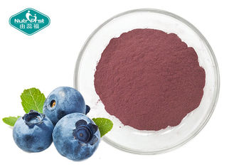 Vaccinium Spp Natural Fruit Blueberry Extract Powder For Antioxidant
