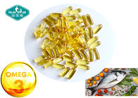 China Natural Lemon Flavor Omega 3 Fish Oil 1000mg Softgel For Vitamins And Supplements factory