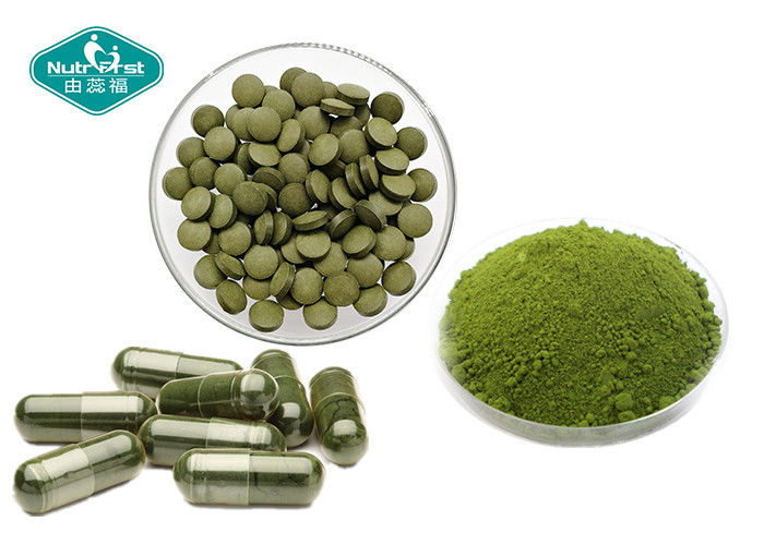 Organic Chlorella Herbal Supplements 200mg 400mg 500mg Natural High Purity