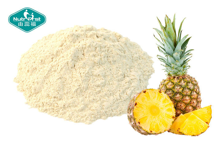 Healthy Pineapple Fruit Powder / Freeze Dried Fruit Powder Drink For Anti - Aging