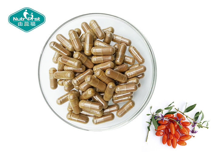 Multi Most Powerful Antioxidant Supplement Hard Goji Berry Capsules For Anti - Aging