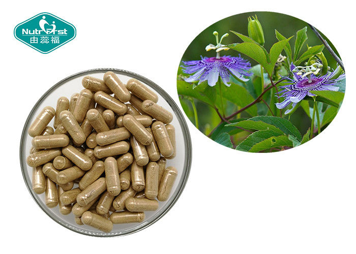Pure Herbal Supplements Passion Flower Capsules Dietary Supports A Calm Mood