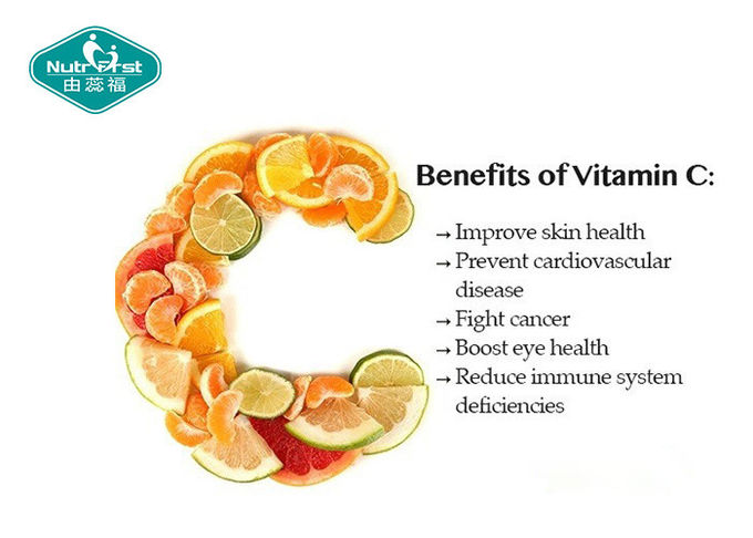 High Dose Organic Vitamin C 1000mg Fight Cancer And Improve Skin Healthy
