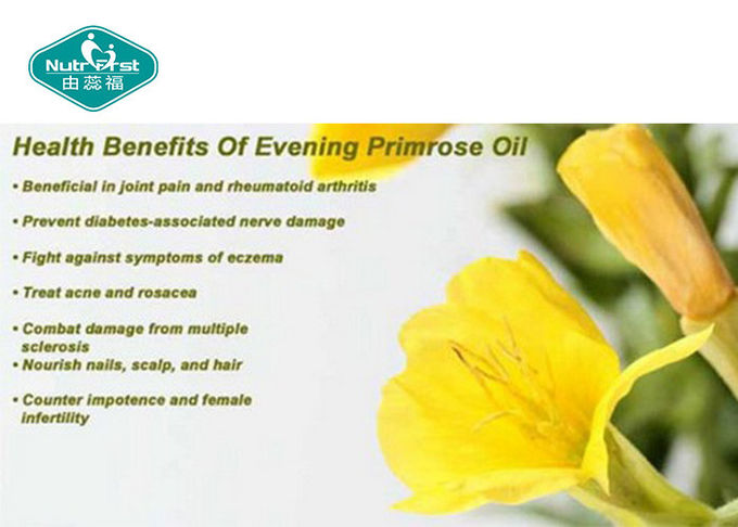 High Strength Omega 3 Evening Primrose Oil Capsules Oblong Pure Healthy